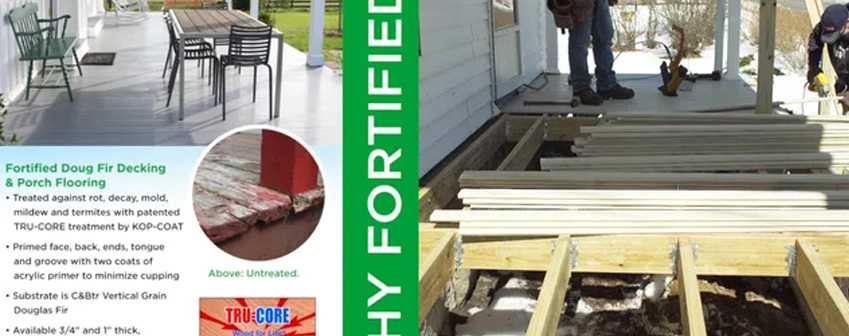 Why Choose Fortified Doug Fir Decking & Porch Flooring?